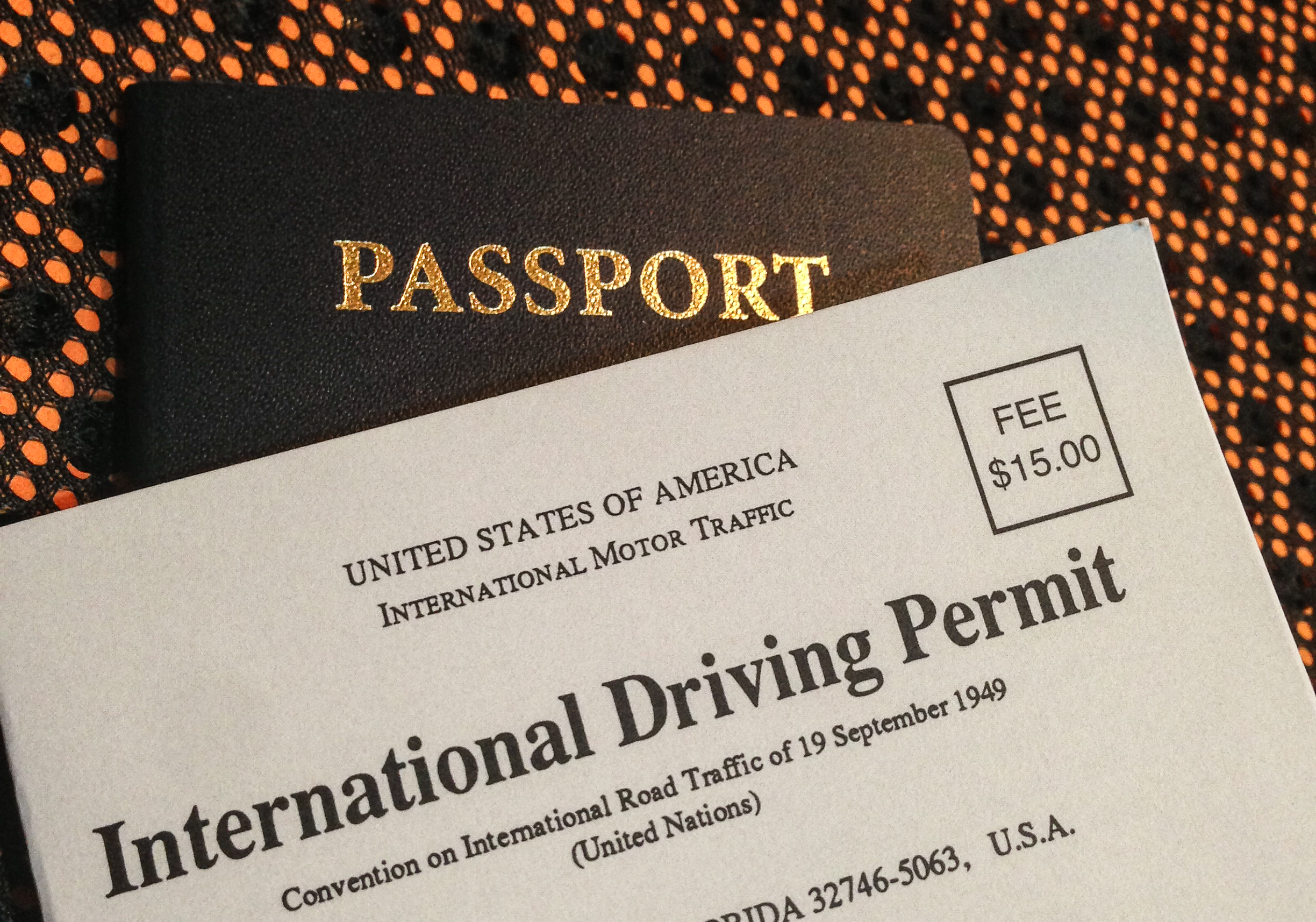Some countries may require that you have an International Driver's Permit.   (Photo:  Tony Webster )  (click to enlarge)