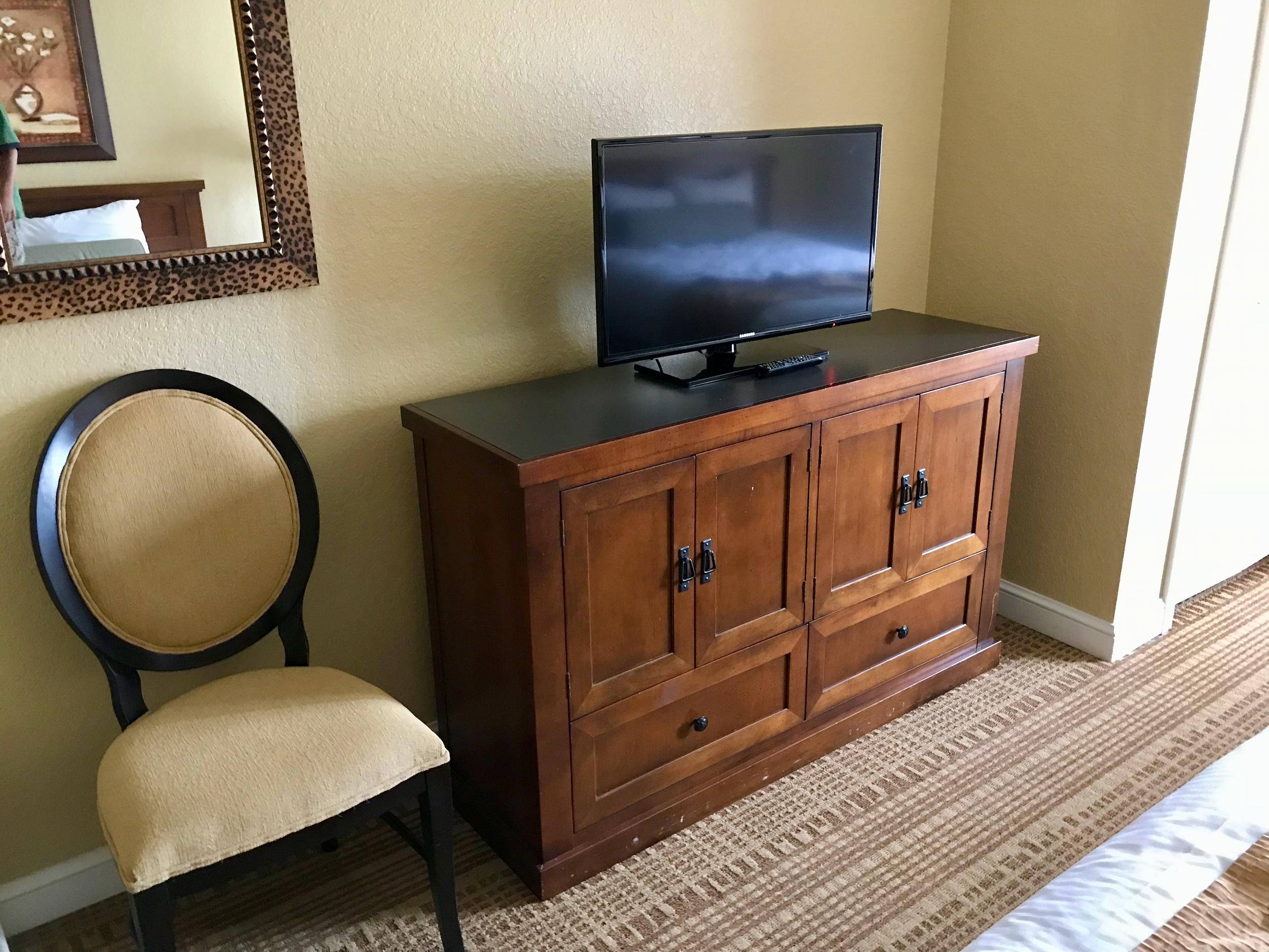 Condo second bedroom television