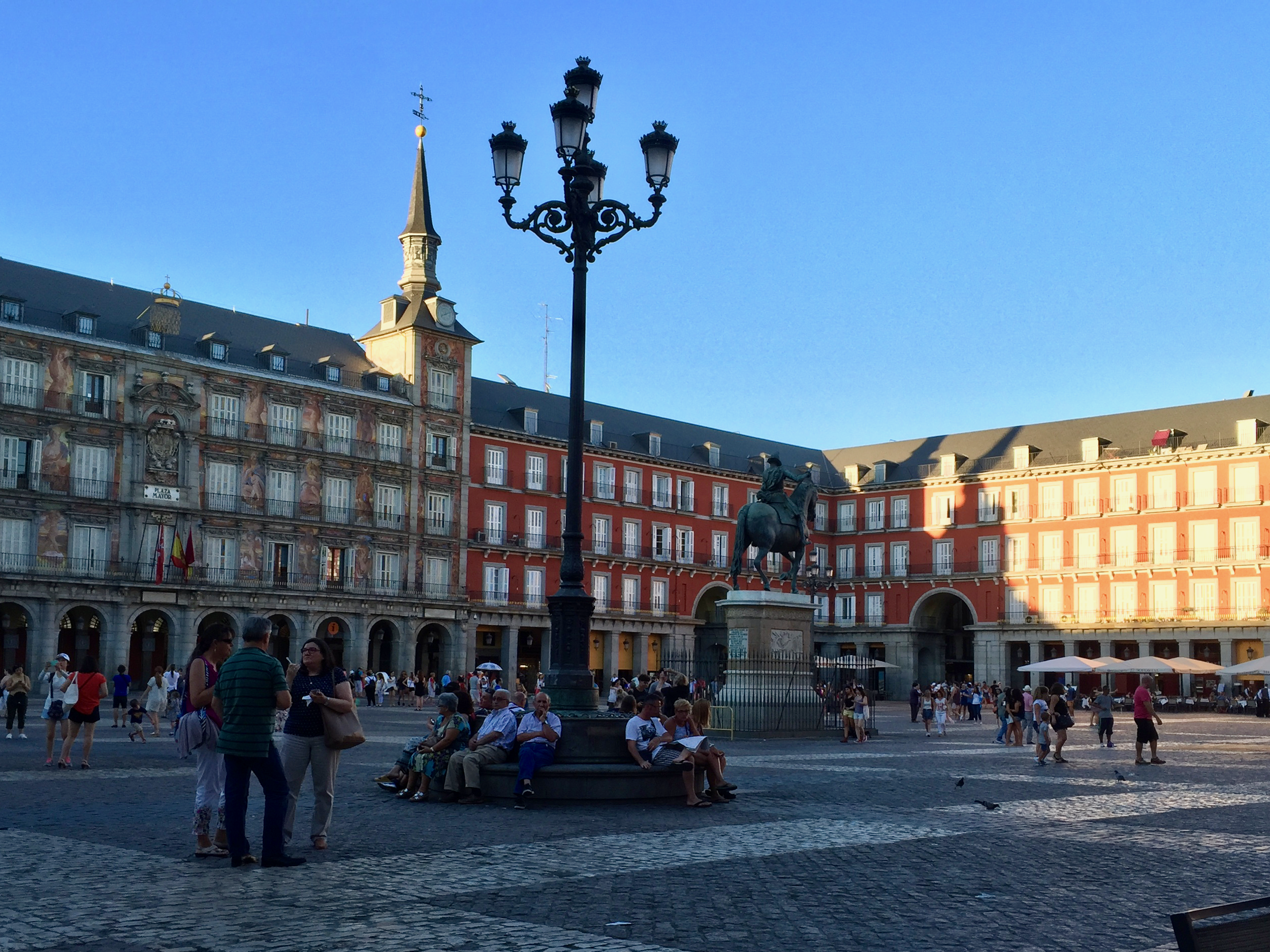 We enjoyed Madrid and Plaza Mayor, but don't want to devote another day to the city on a short trip.  (click to enlarge)