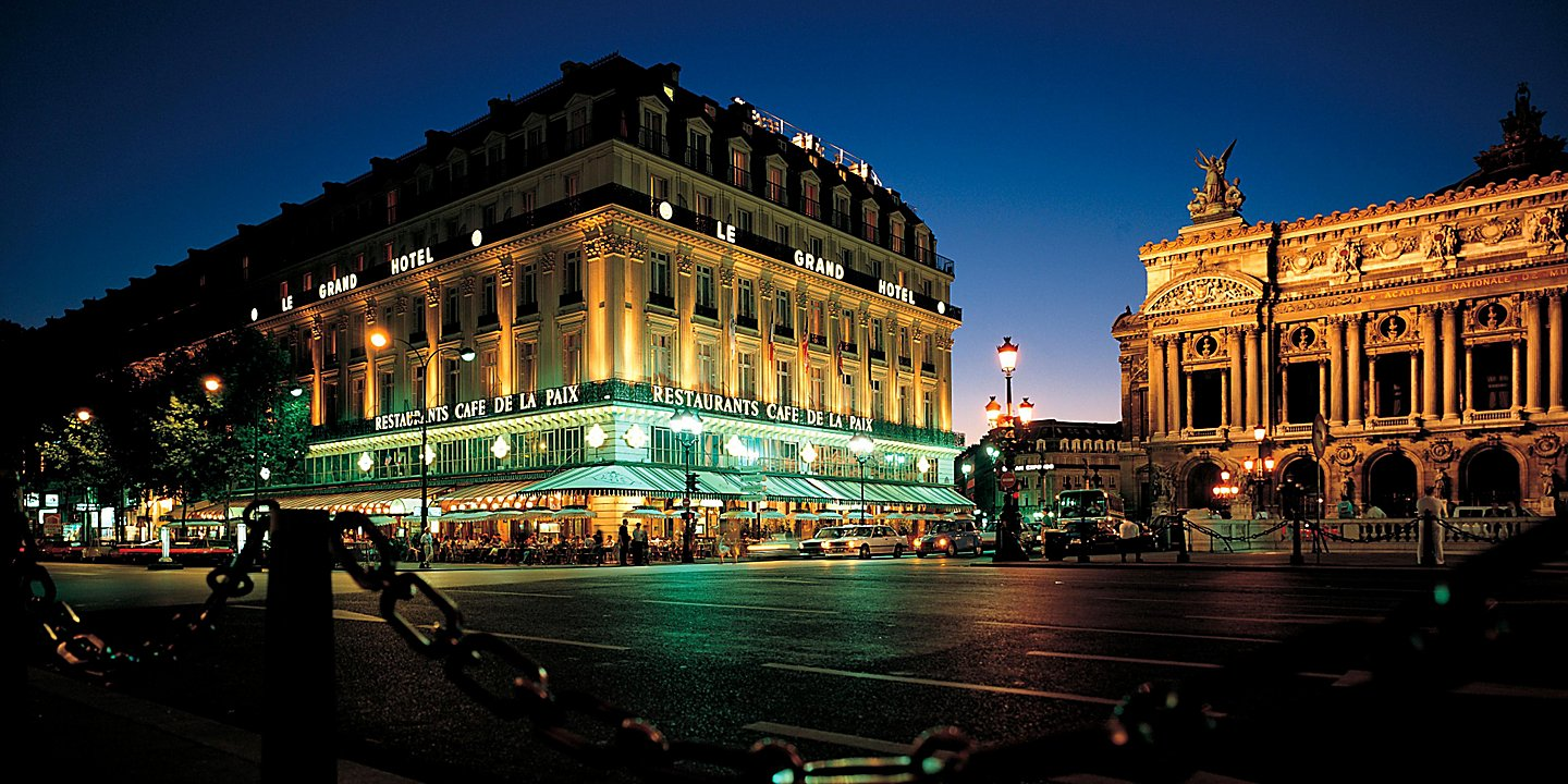 The five-star Intercontinental Paris - Le Grand is located adjacent to the Opera Garnier   (Photo: IHG Hotels)  (click to enlarge)