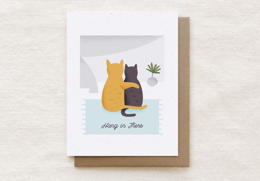 210-C: CAT CUDDLE