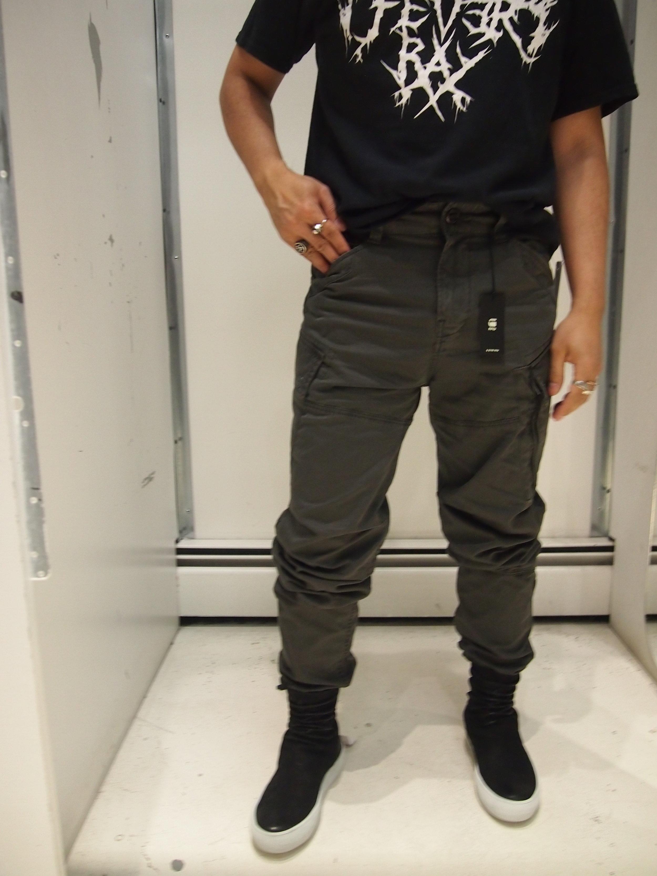 Kendte G-Star Raw Roxic Tapered Cargo Pants - Asfalt — global atomic IR-18