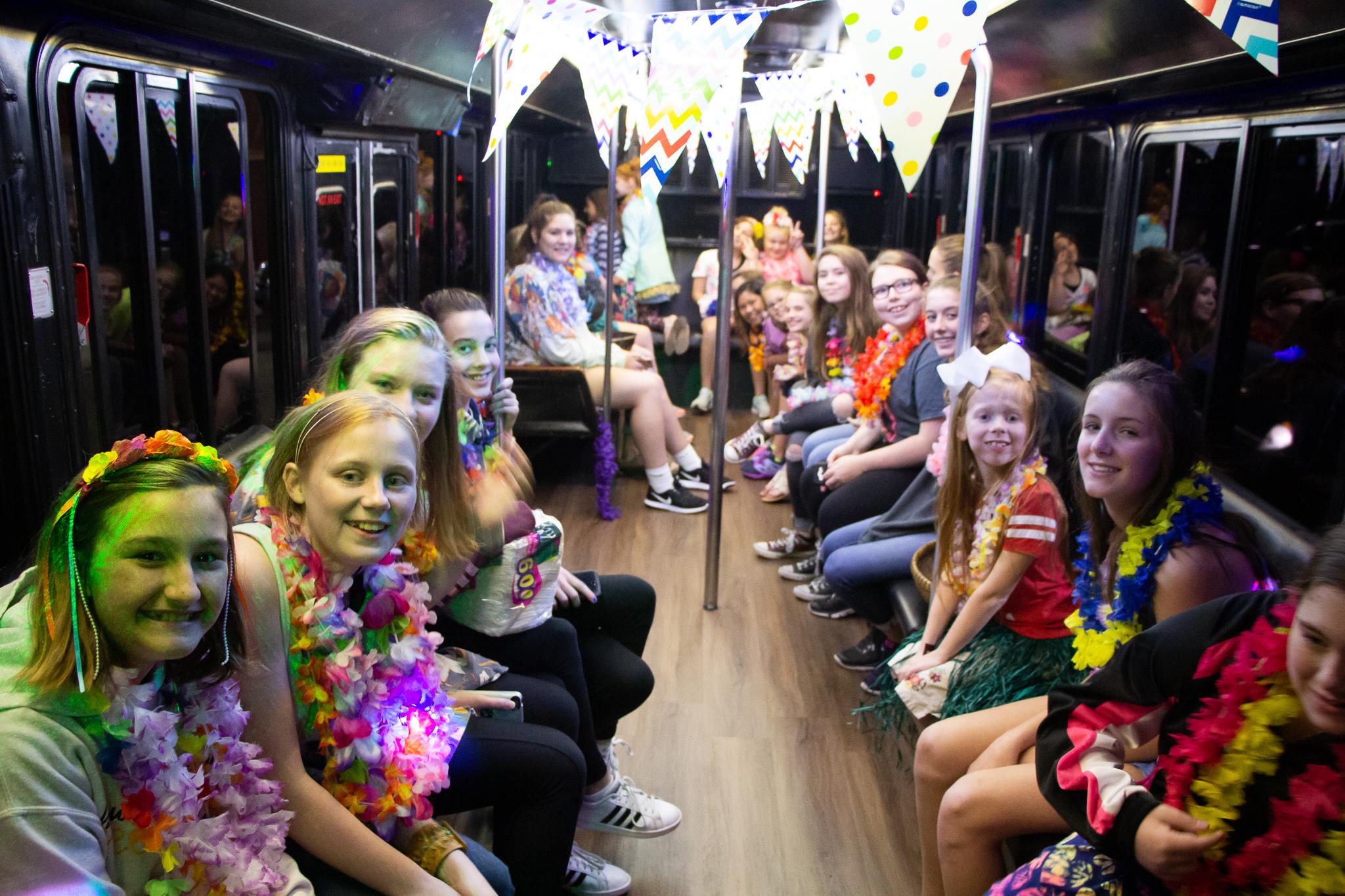 Dazzler Party Bus