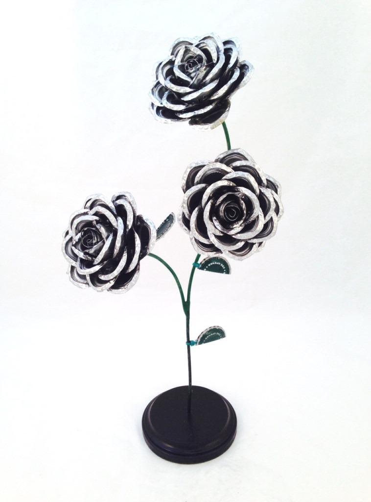 Bottle Cap Roses — Kaps for Kids