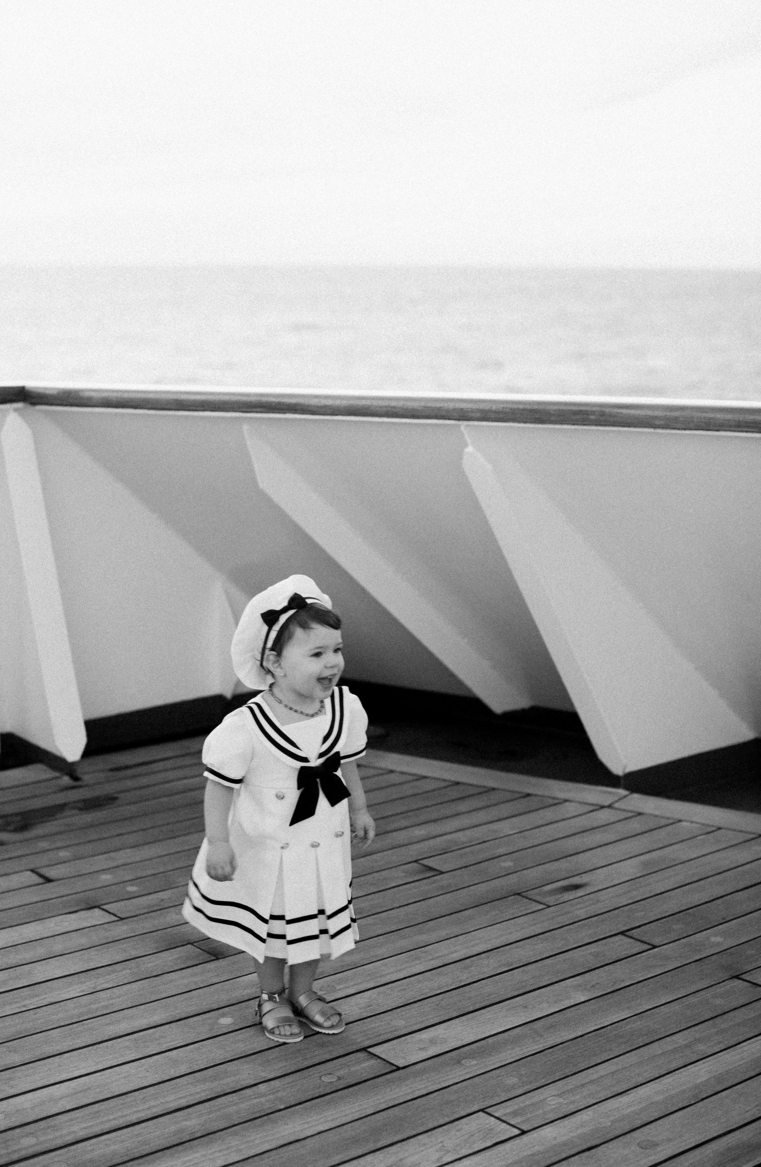 Phoenix Photographer | Mila at sea | © Alexandria Whitefeather