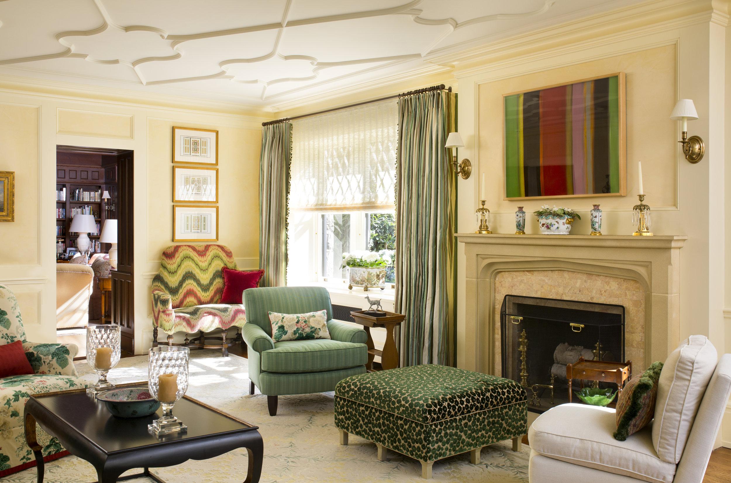 Wendy Lloyd Interior Design | Princeton, New Jersey | Tudor Revival Home Remodel