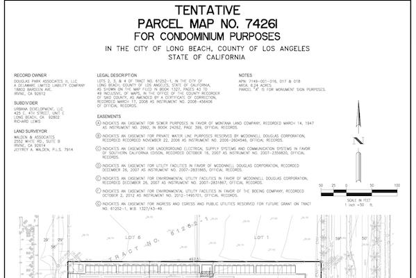 Condominium Tract Map