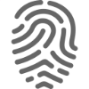 keep it frank thumb print icon