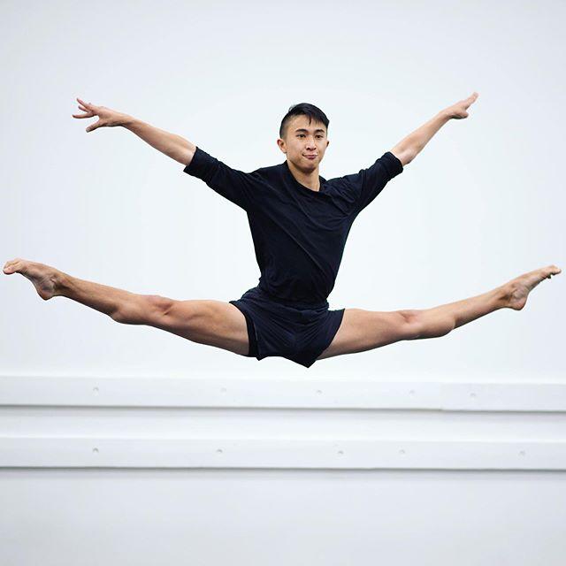 The amazing @justinpham! Photo by me.  #dancers #jumps #photos #clistudios #dance #nikon #dancephotos #photography #actionshot #photographer #images #jump #maledancer #amyryersonphotography