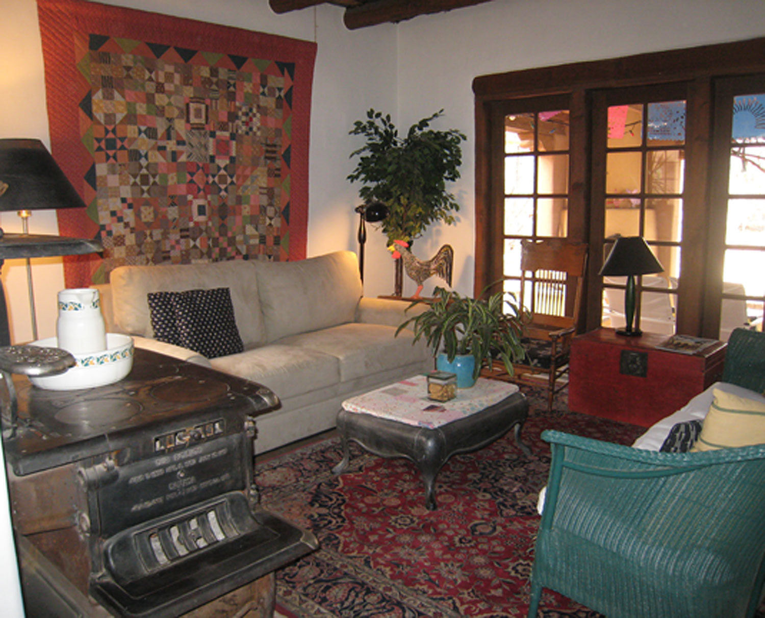 Living Room of the B&B suite