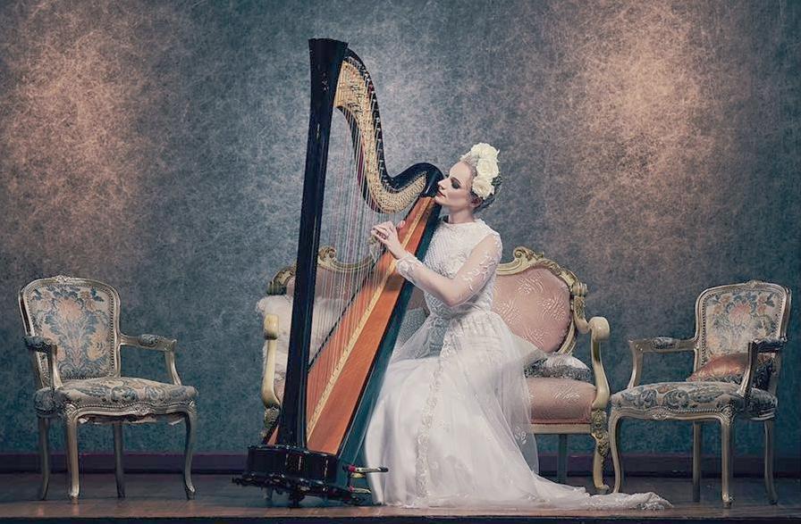 Personal Contemporary Elegant Harp