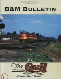 "Volume XXXI, No. 1 (2018)   Trainwatching, Geography, and Technology. PanAm Acquires CSX Power. Amtrak Shuttle to Greenfield. Commuter fare evasion. PTC update. Wayne Gagnon obituary  Consists from the Car Books of Conductor George W. Cox  ""The Gull""  Traveling by Sleeping Car on the  Gull"