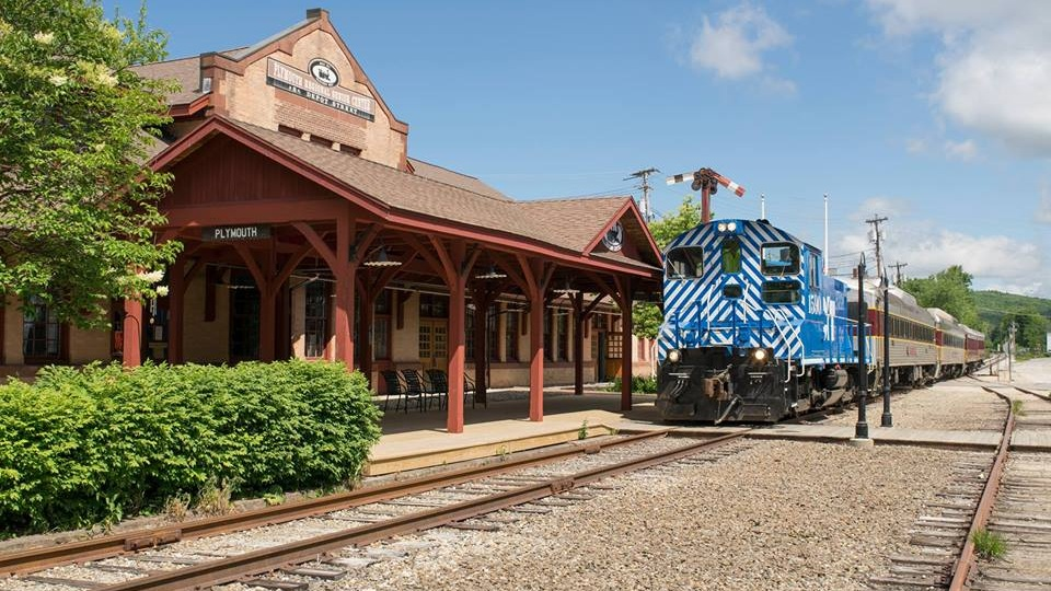 The meeting will be held in the former Boston & Maine depot at 8 Depot Street in Plymouth, NH. (James P Nigzus Photo)