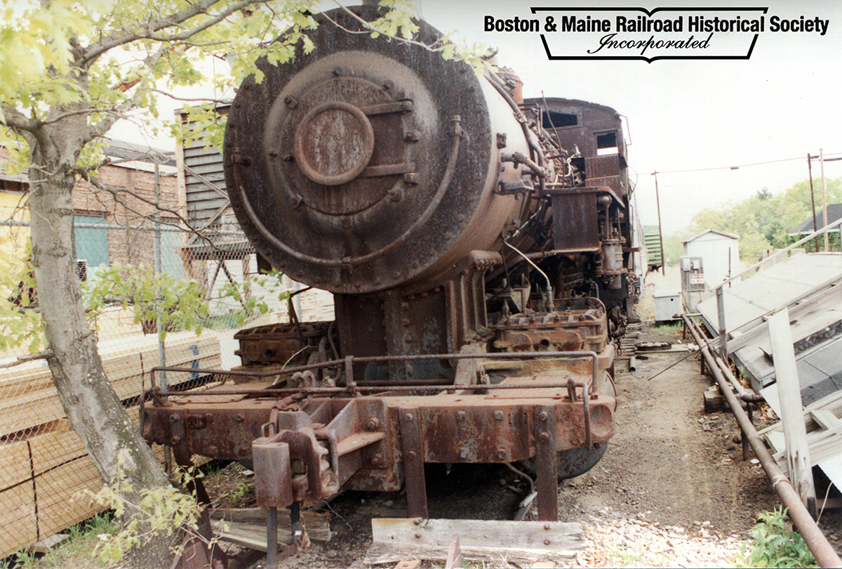 May 6, 1991 - #410 at the Billerica Shops. Ed Felten photo, courtesy Jim Nigzus Collection.