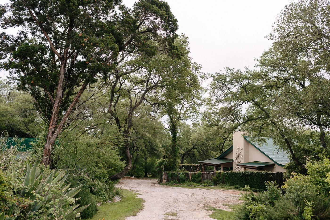 Wimberley Texas Backyard Wedding Venue