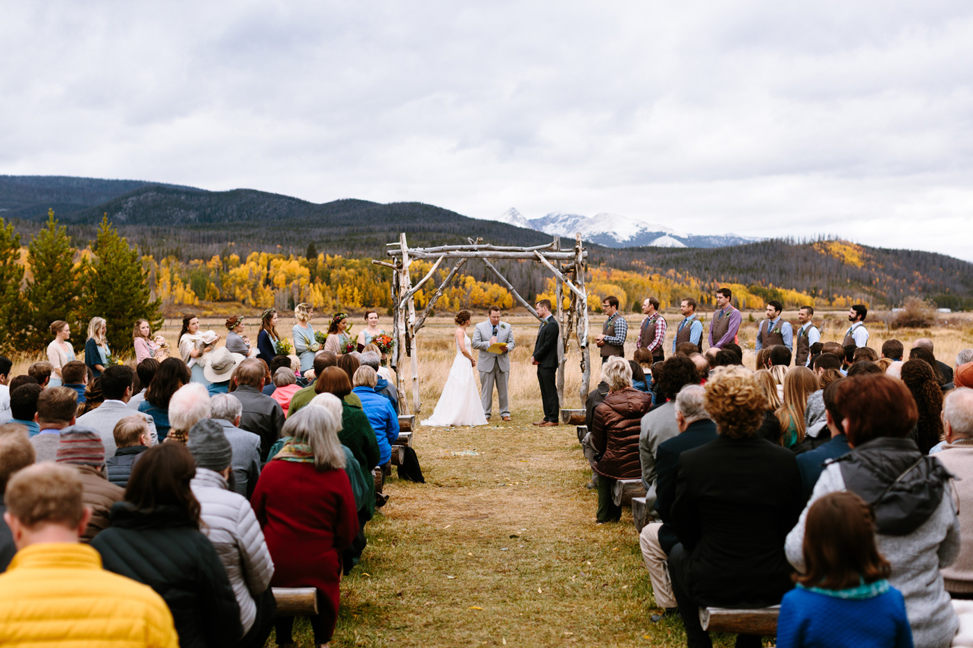 Winding-River-Ranch-Wedding-Ceremony-Mountains