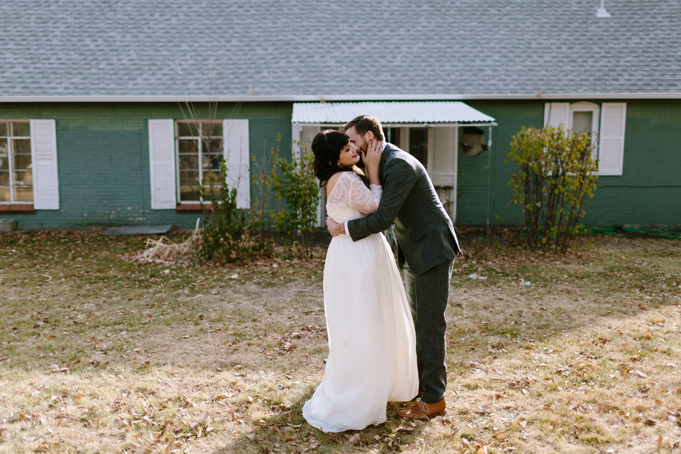 Studios at Overland Crossing Wedding First Look