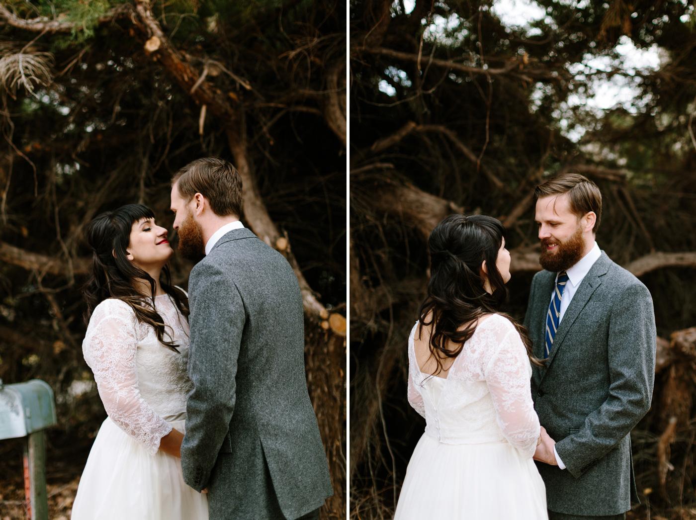 Studios at Overland Crossing Wedding Bride and Groom Portrait