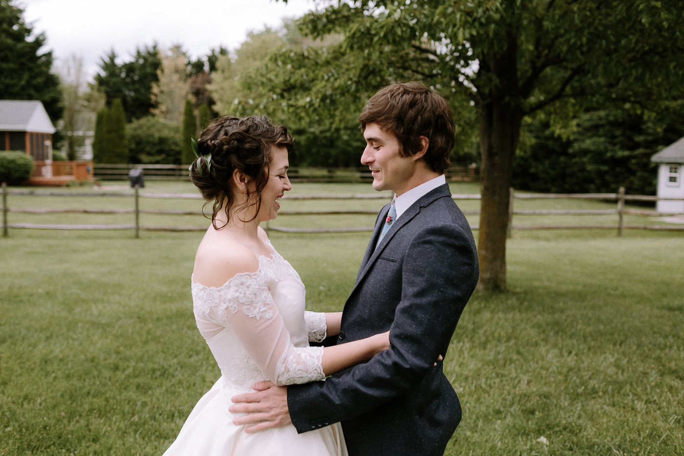Maryland Bride and Groom First Look