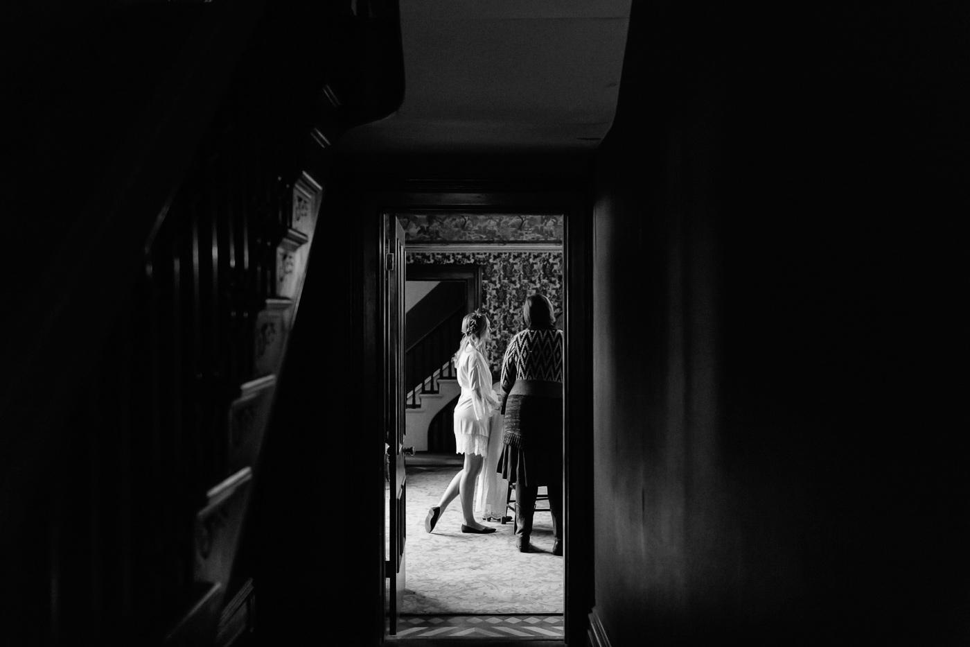 Hamill House Bride Getting Ready