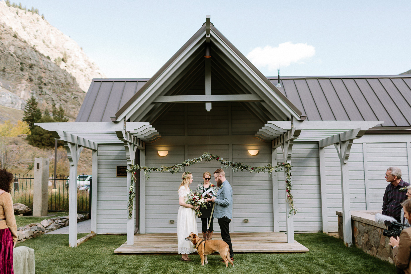 Georgetown wedding ceremony
