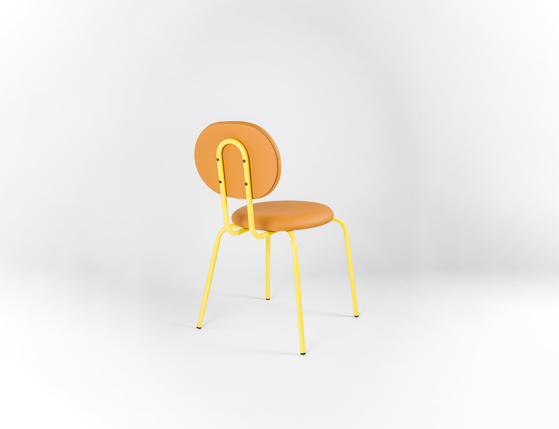 Yellow Orange Bubba Chair