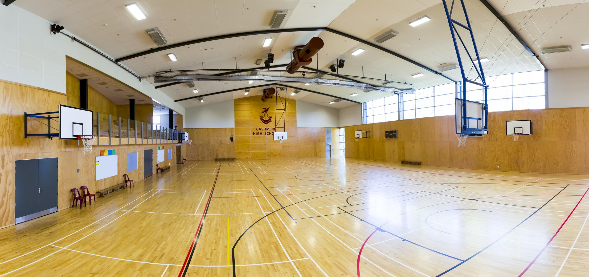 Cashmere High Sports Facility, Christchurch