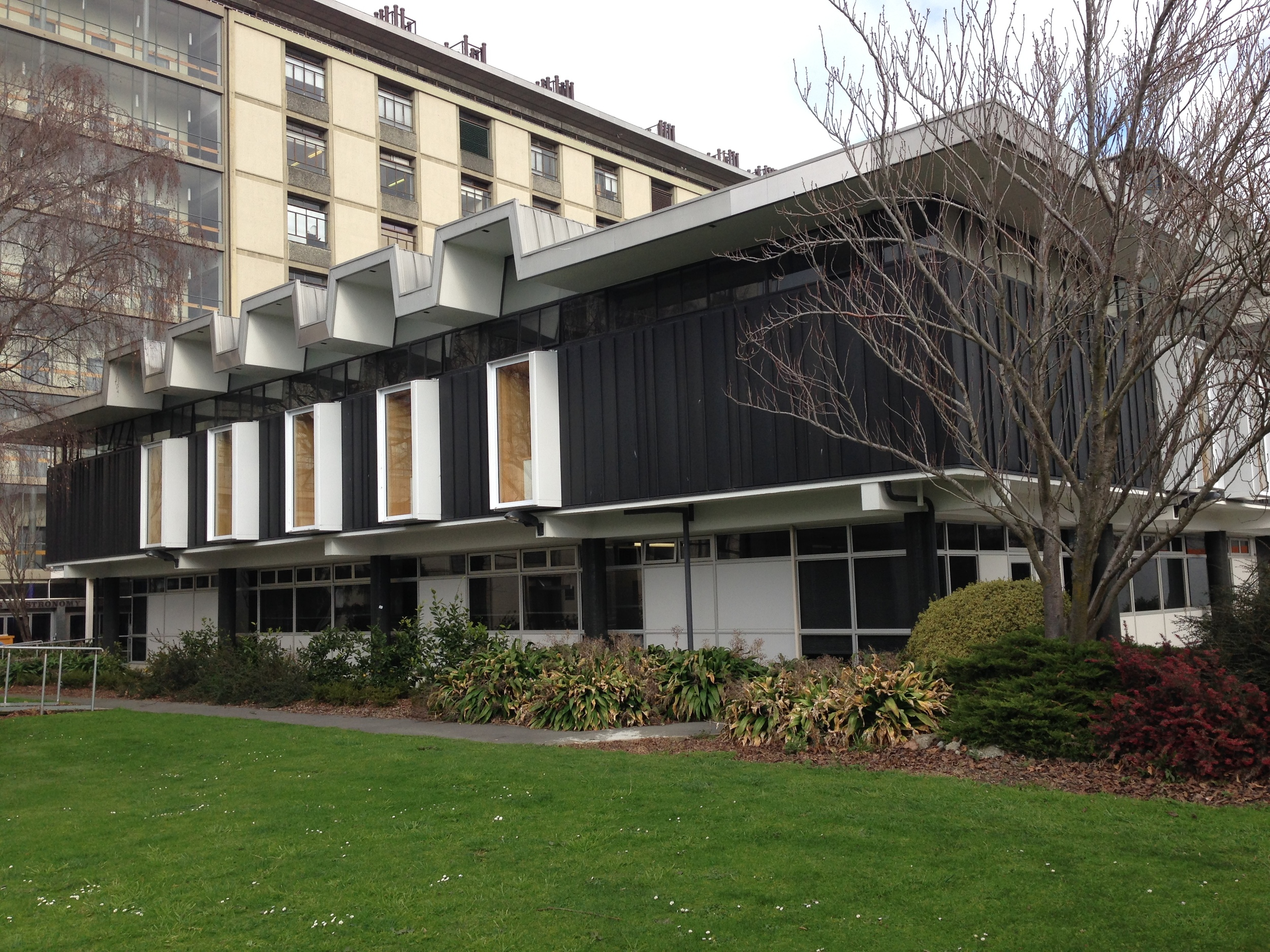 Student Services Building Strengthening, University of Canterbury, Christchurch