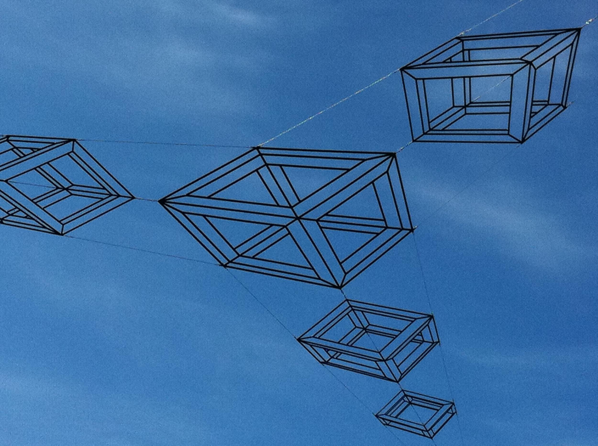 Cubes Sculpture, Cashel Street, Christchurch
