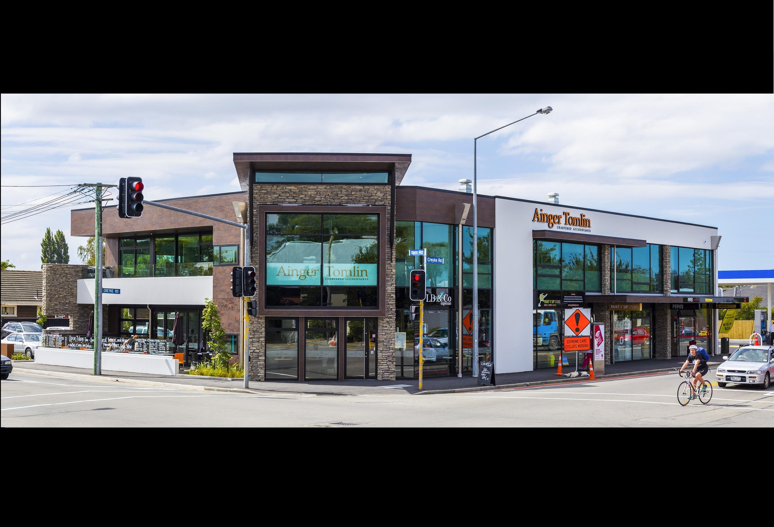 Creyke Road Retail Development, Christchurch