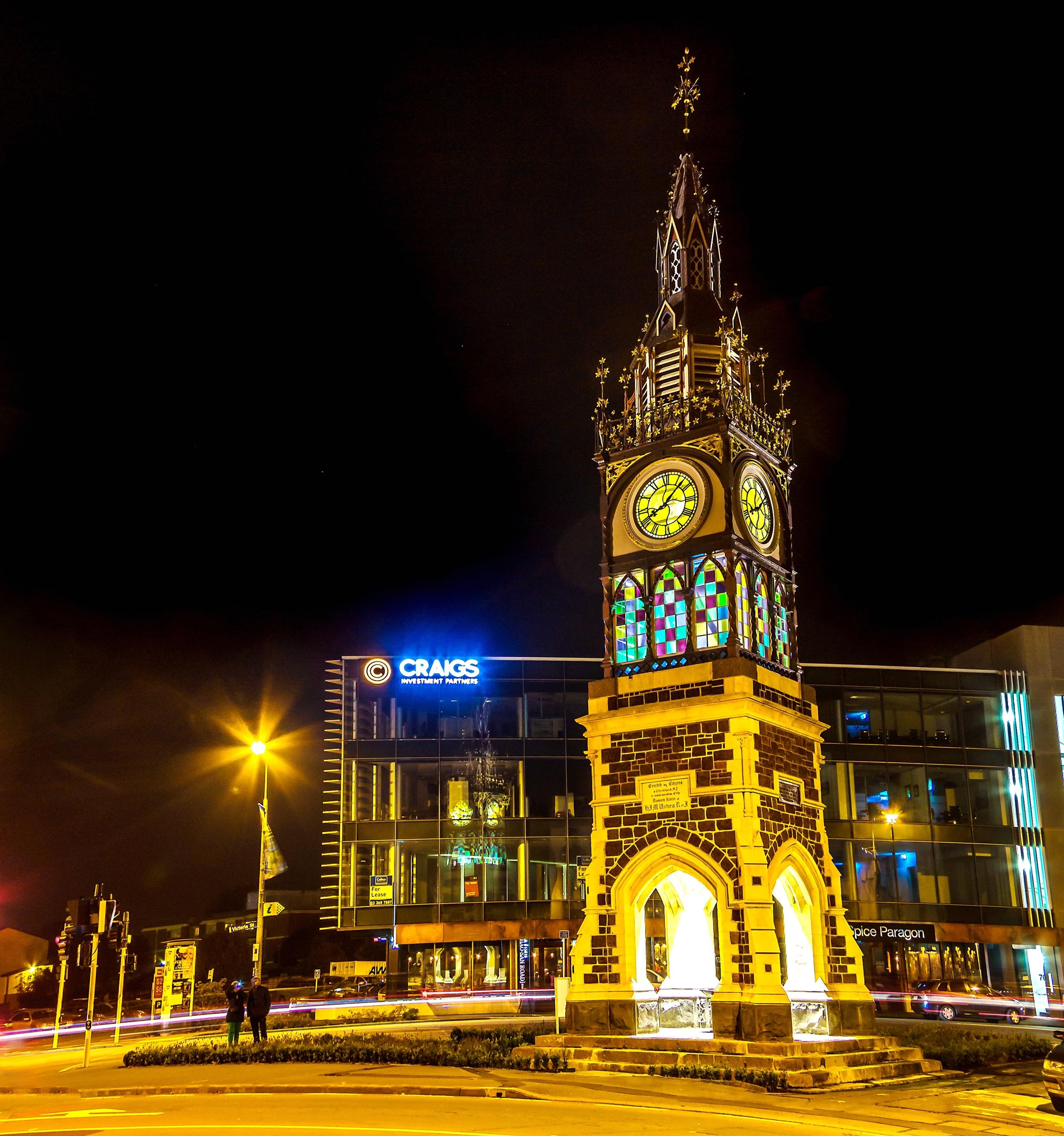 Jubilee Clocktower Strengthening, Christchurch CBD