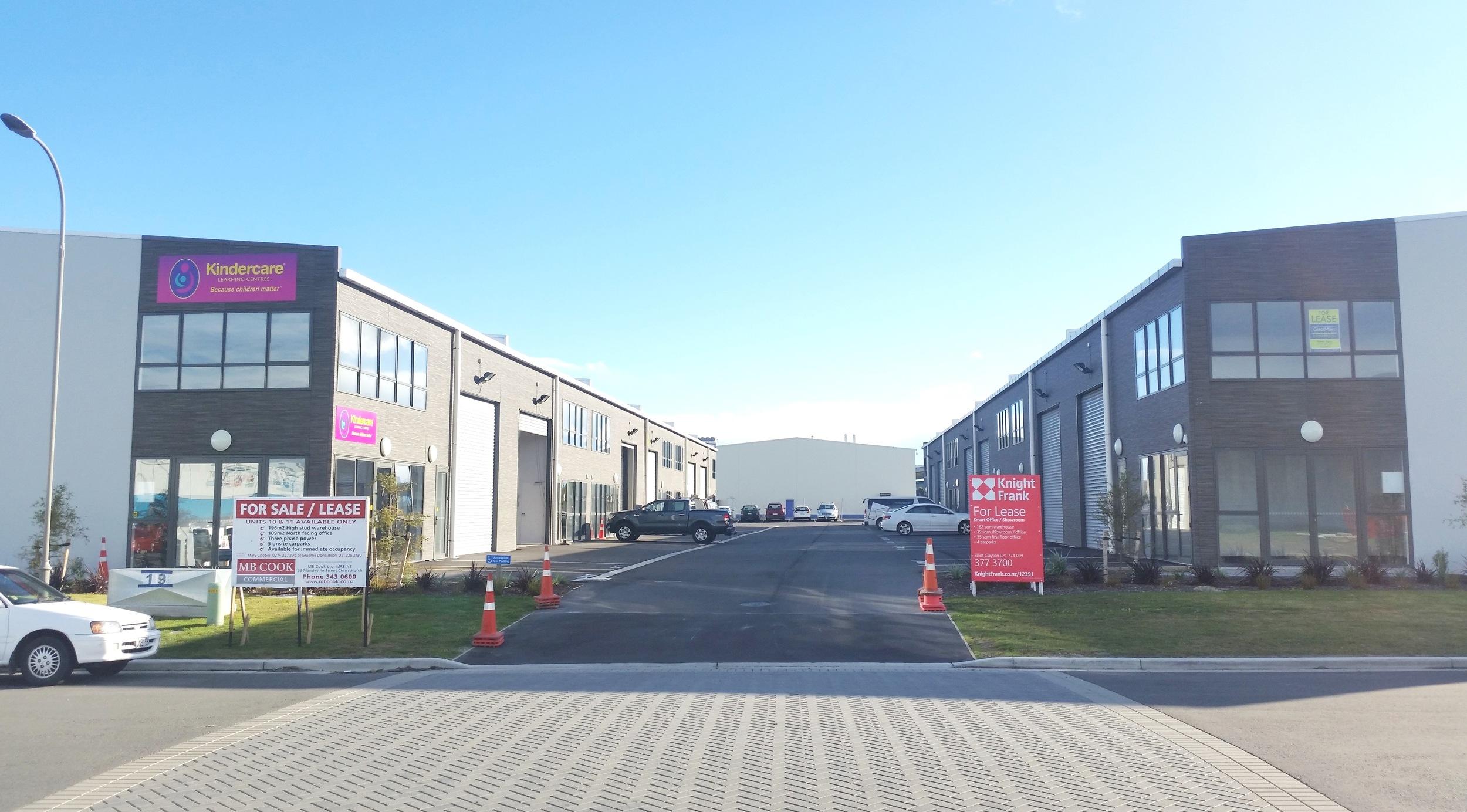 Racecourse Road Commercial Development, Christchurch