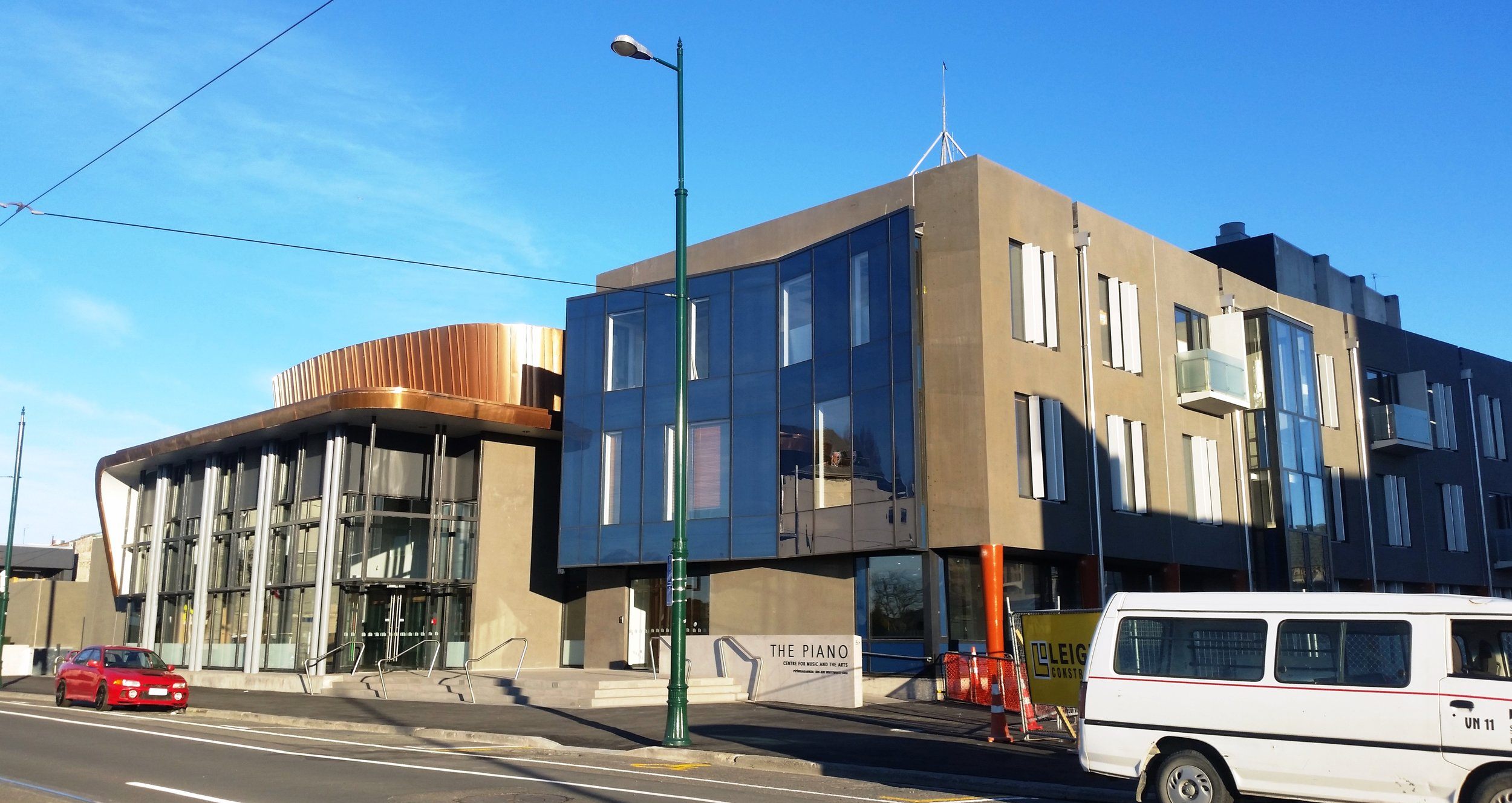 The Piano: Centre for Music and the Arts, Performing Arts Precinct, Christchurch CBD