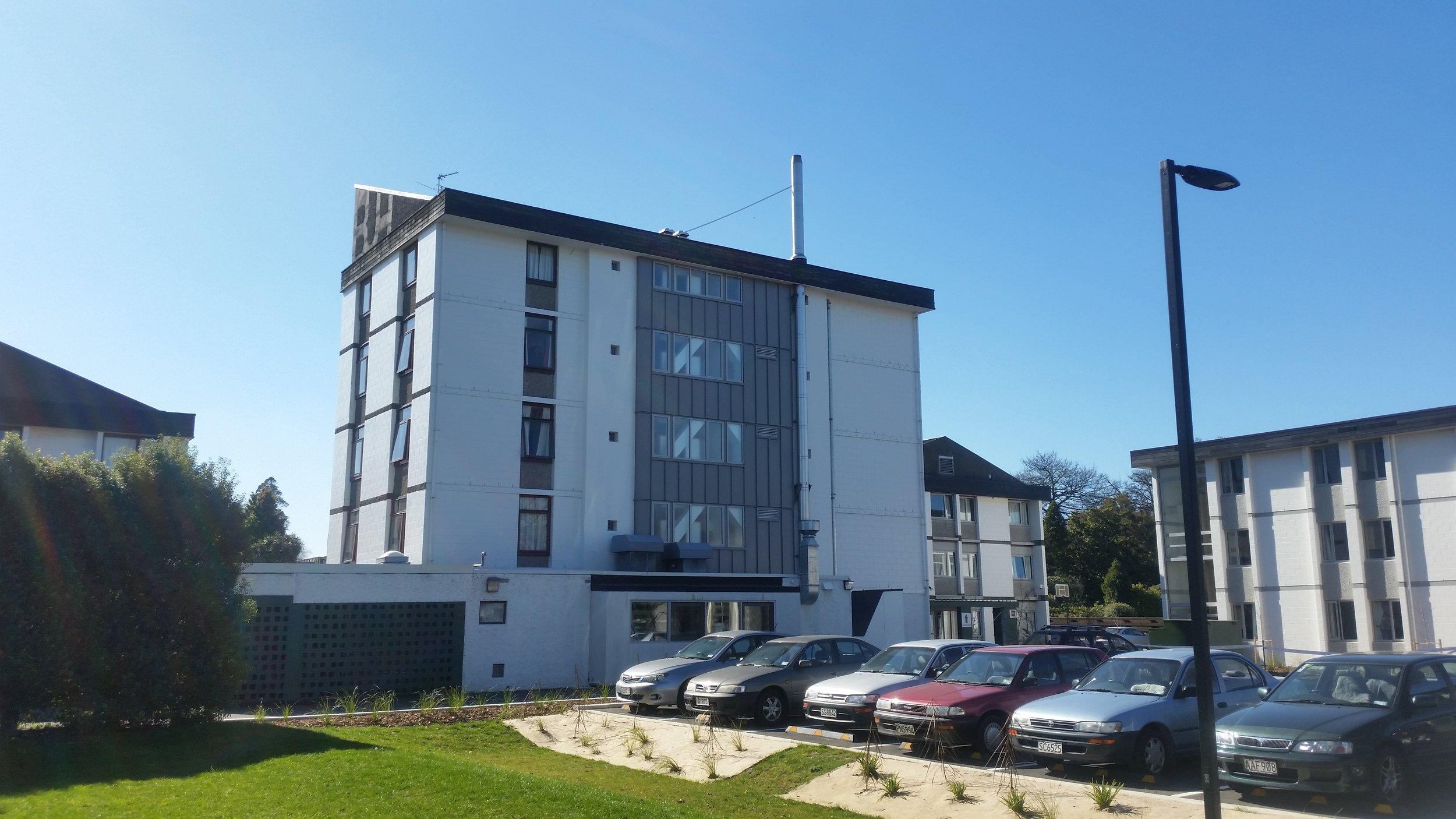 Bishop Julius Hall Miscellaneous Seismic Strengthening, University of Canterbury, Christchurch