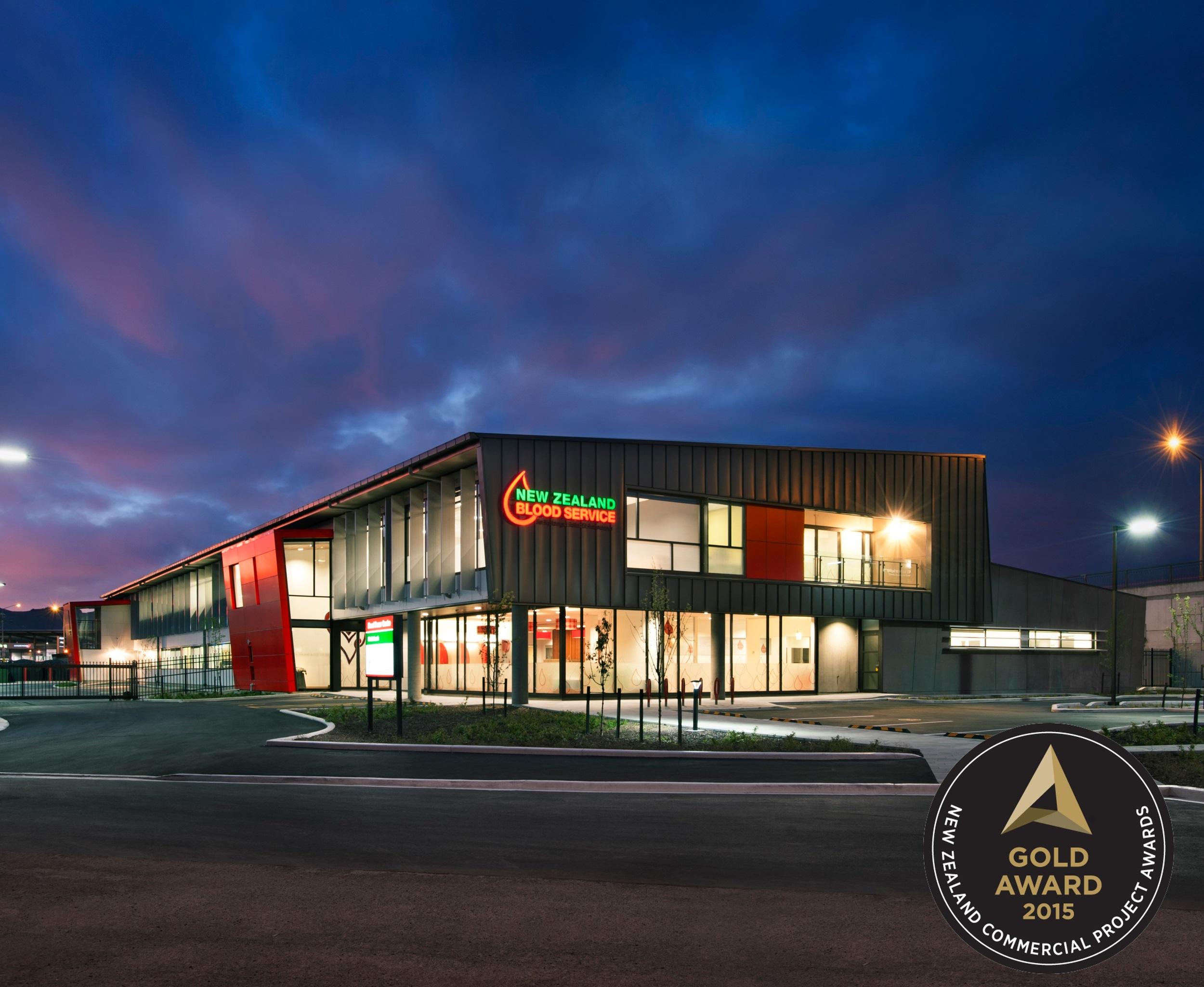 NZ Blood Service Building, Christchurch