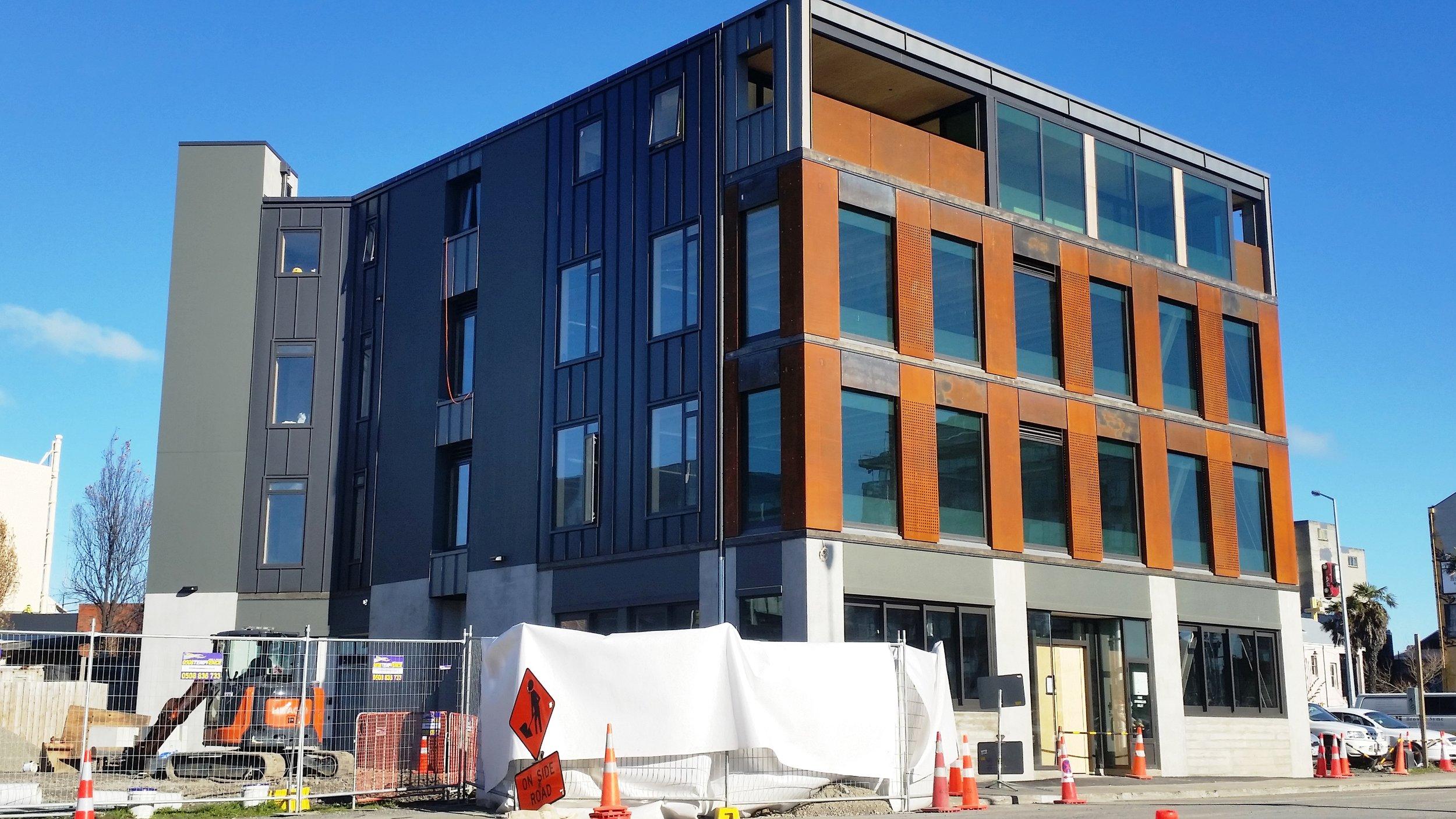128 Lichfield Street Development, Christchurch