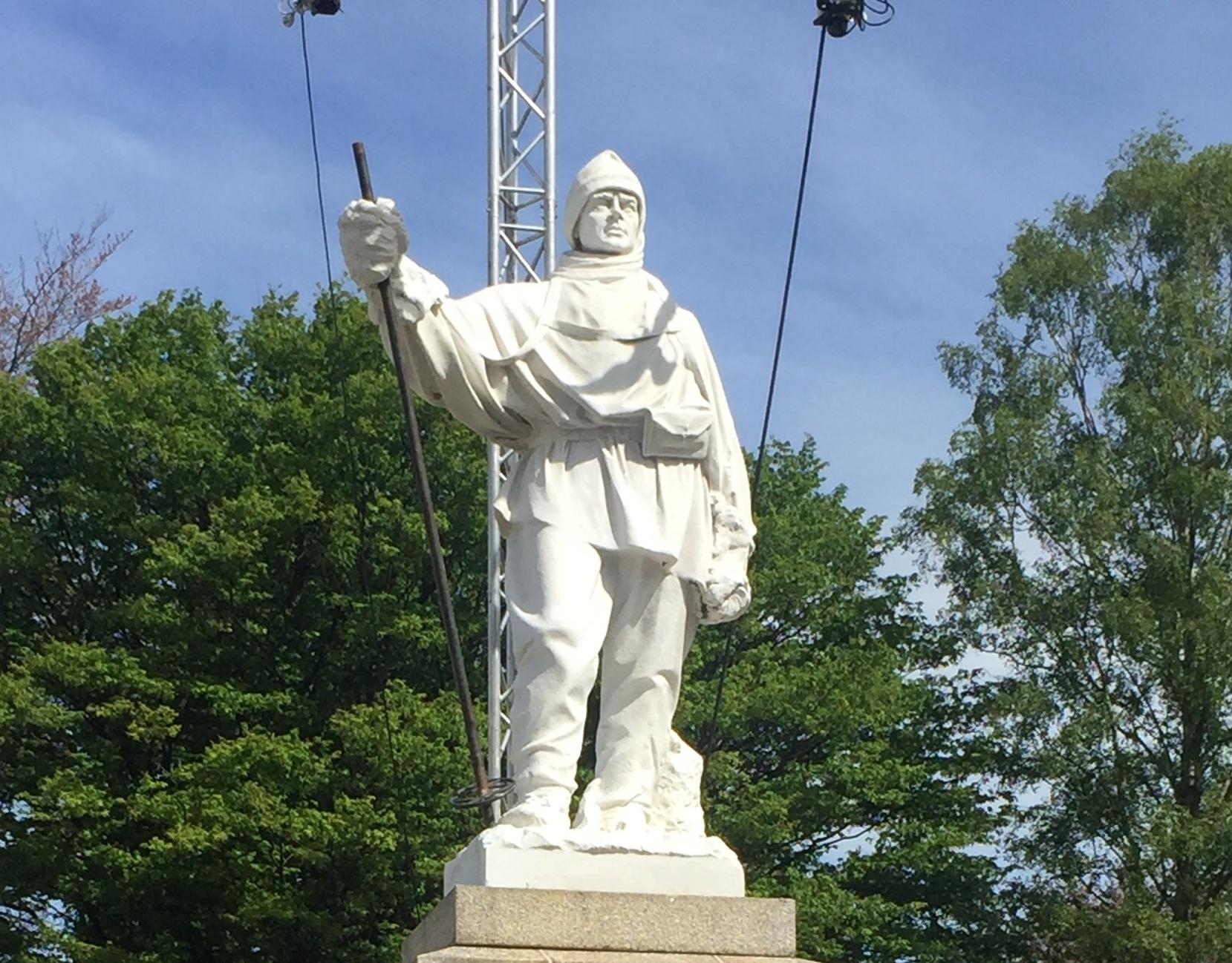 Scott Statue, Christchurch CBD