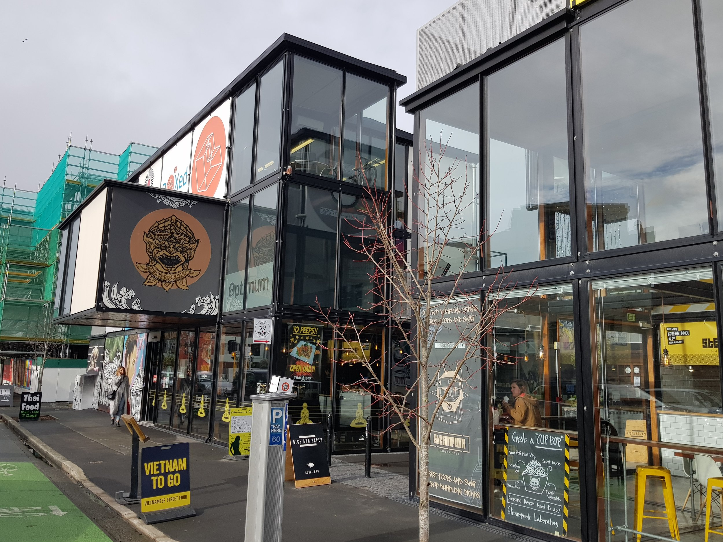 Boxed Quarter, 270 St Asaph Street, Christchurch