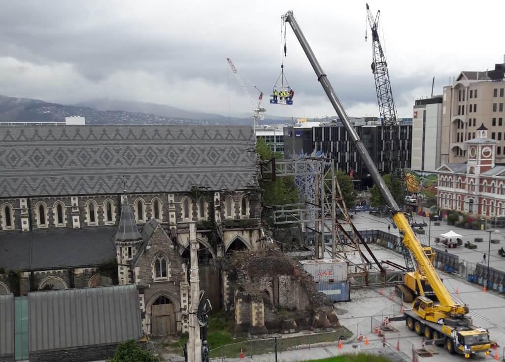 Christ Church Cathedral Reinstatement, Christchurch