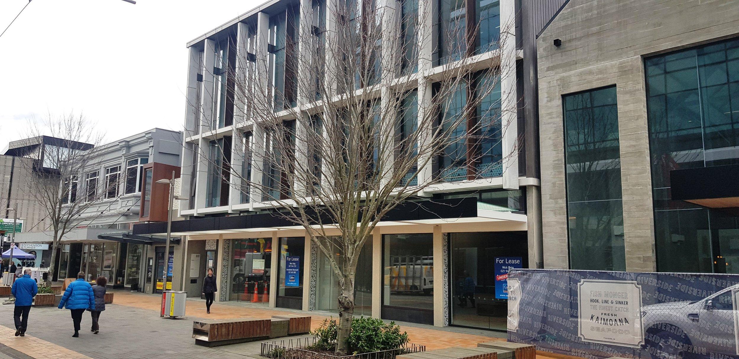 88 and 94 Cashel Mall, Christchurch CBD