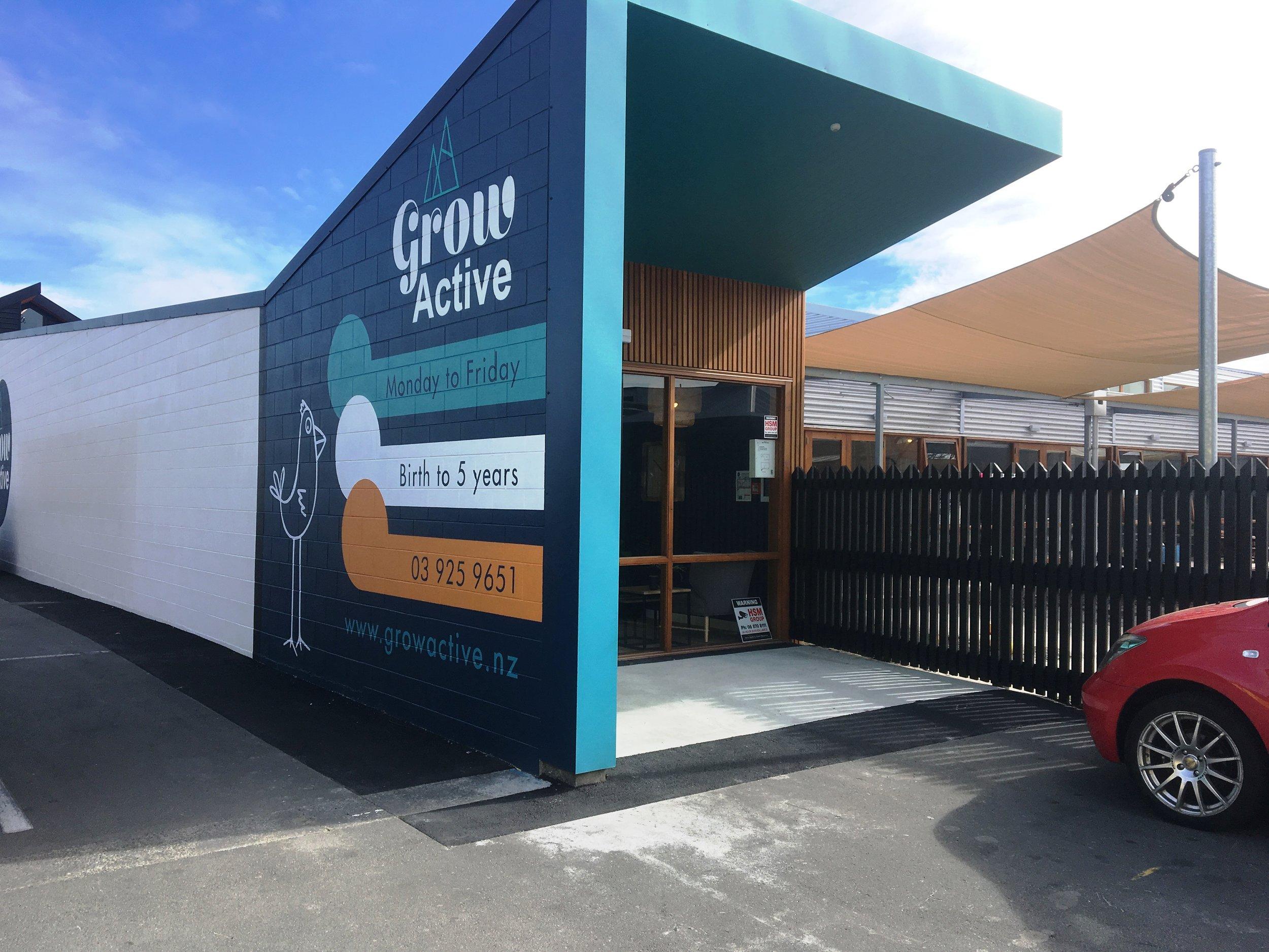 Grow Active Daycare, Welles Street, Christchurch CBD