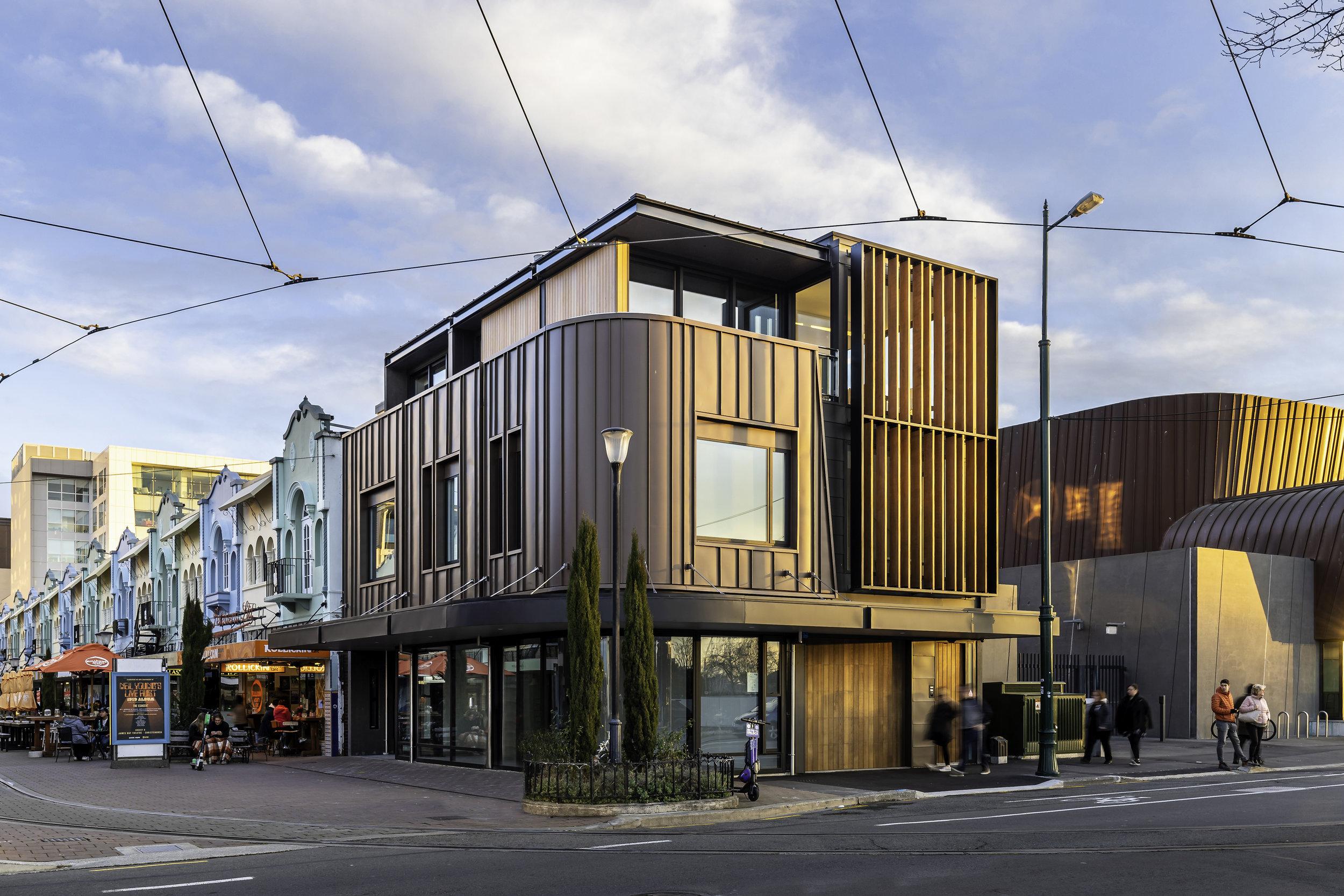 New Regent Street Apartment & Retail Building, Christchurch
