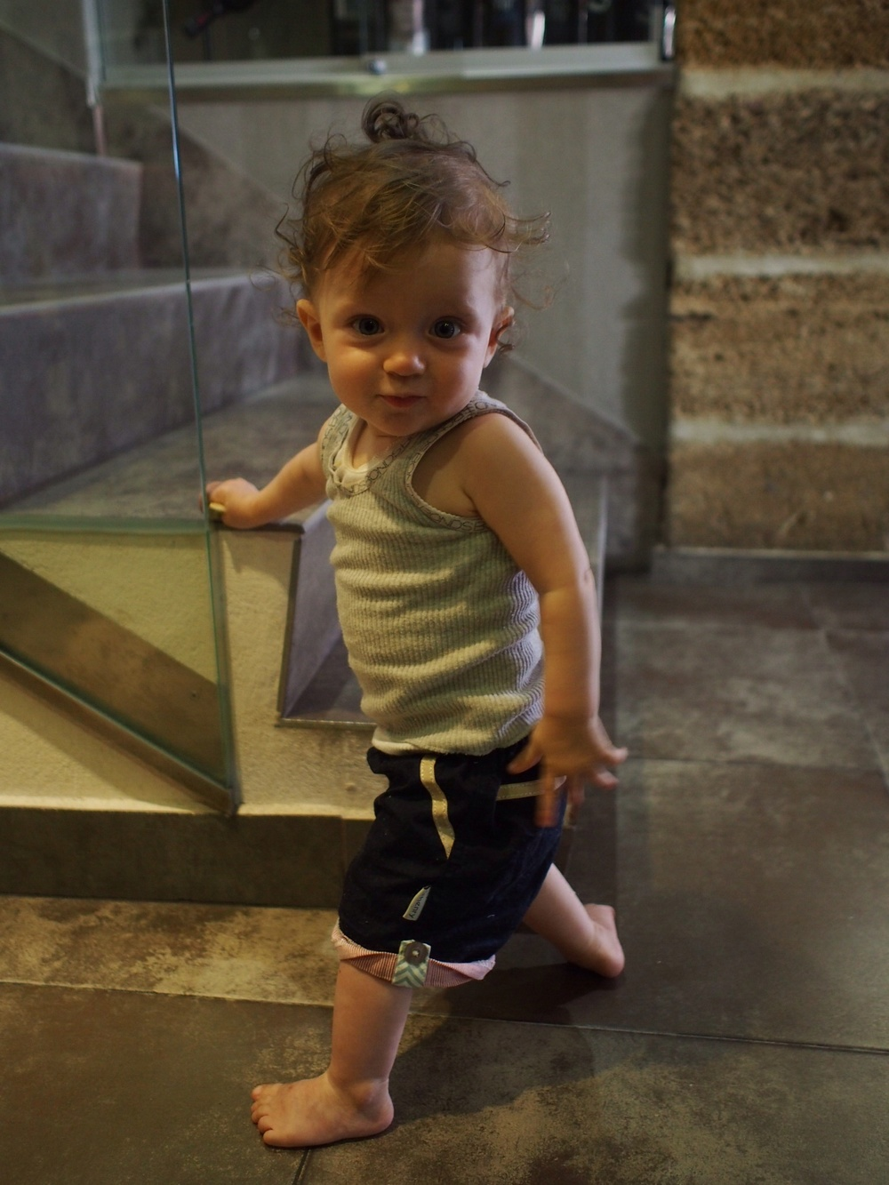 I am going to miss this little 'gangsterinspain' grandchild of mine.