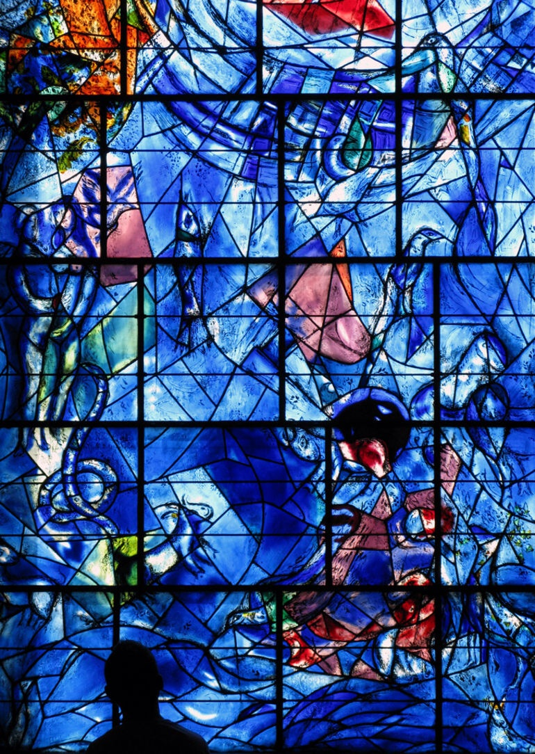 Stained glass, Marc Chagall