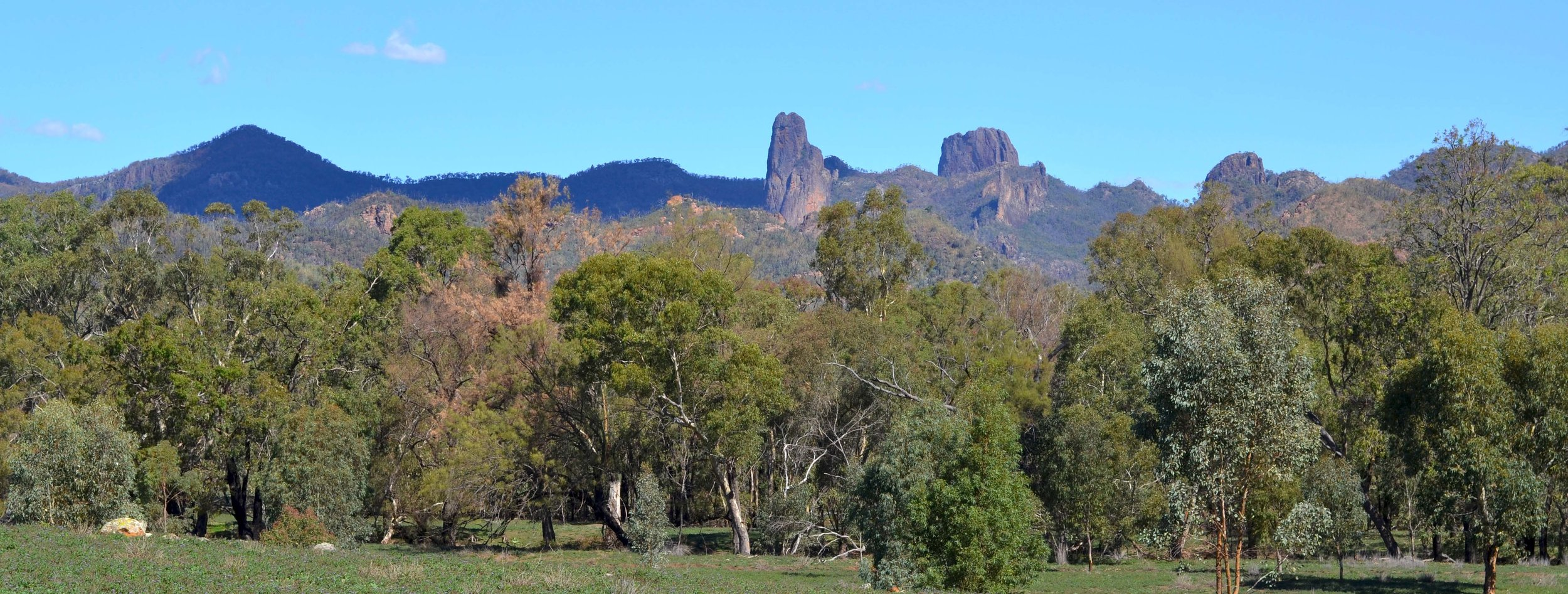 View of Breadknife from Blackmans Camp…. Pretty good view to wake up to everyday!!