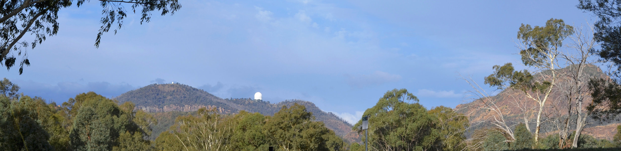 Siding Springs Observatory from my camp