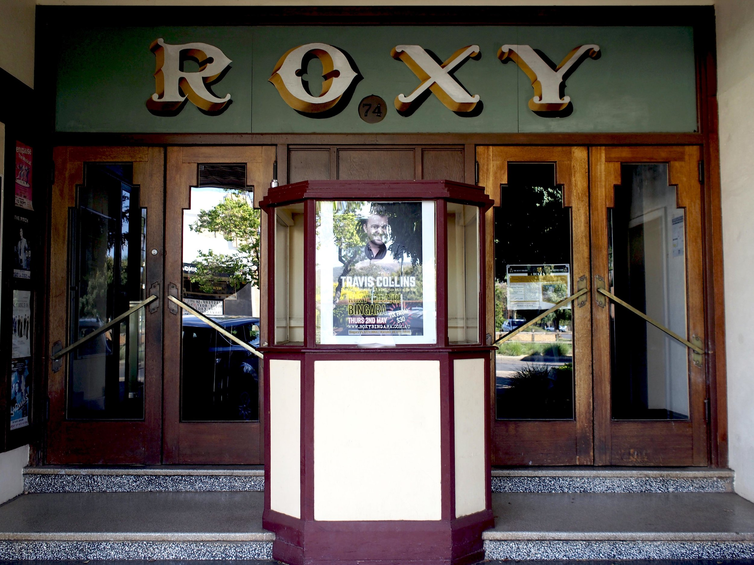 Roxy theatre in Inverell