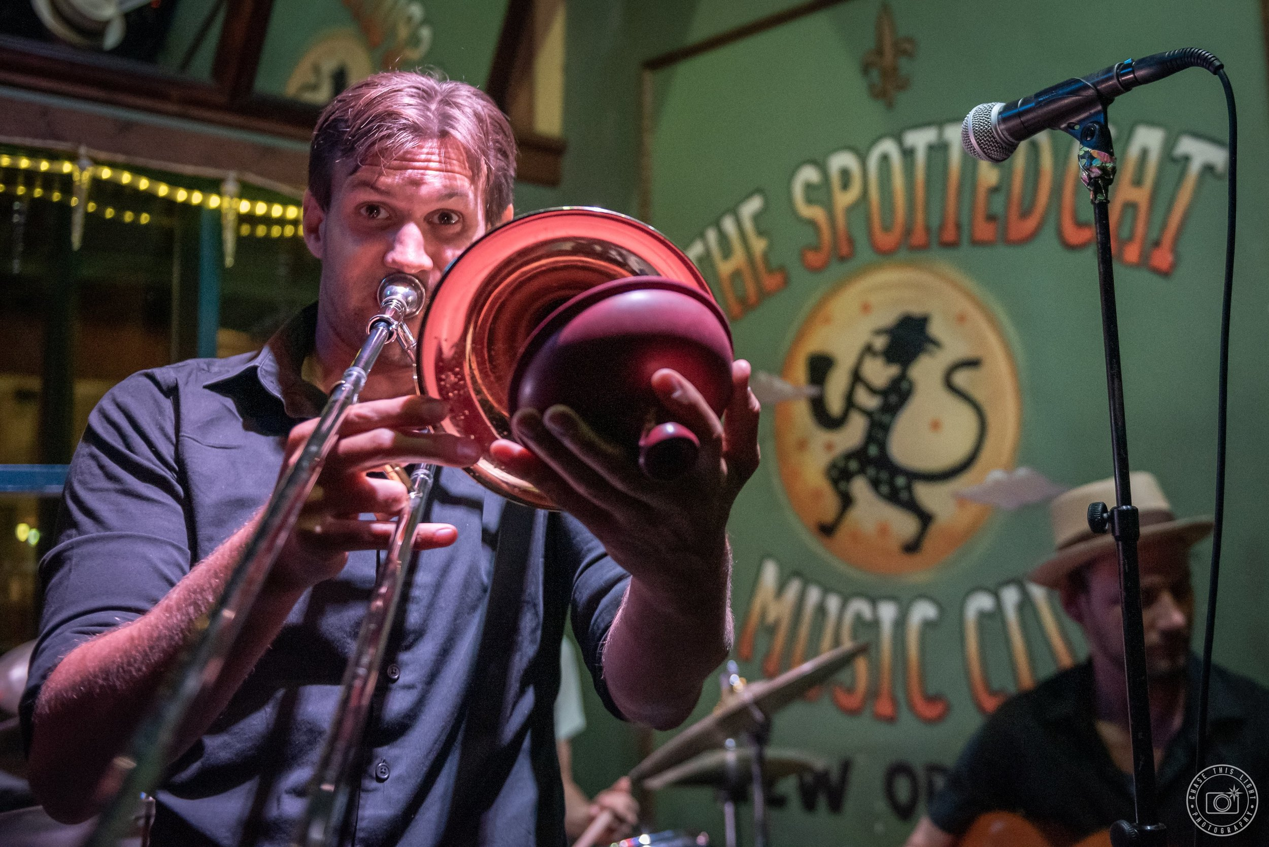 Colin Myers - Band Leader/Trombone/Vocals