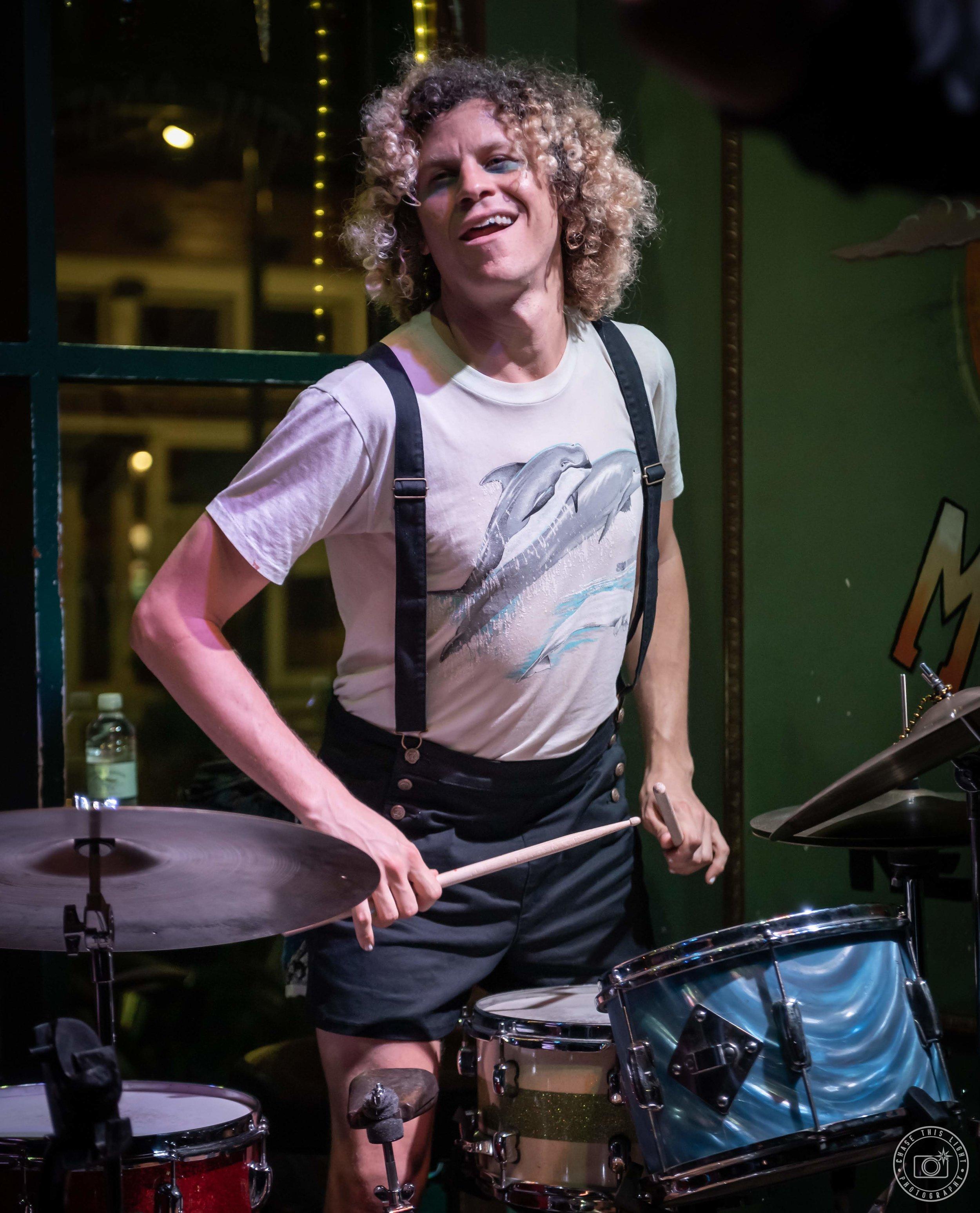 Simon Lott - Drums