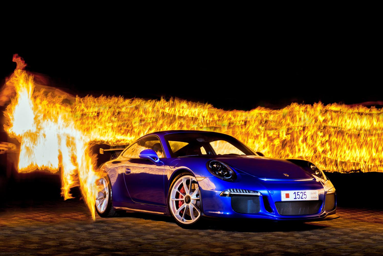 Porsche GT3 Fire Shoot - Ali Haji.jpg
